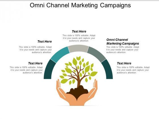 Omni Channel Marketing Campaigns Ppt PowerPoint Presentation Model Backgrounds Cpb