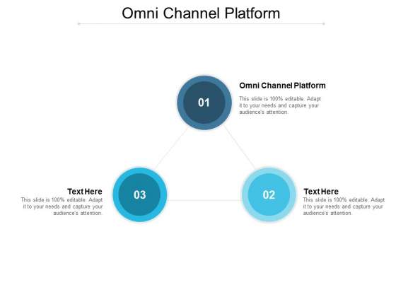 Omni Channel Platform Ppt PowerPoint Presentation Gallery Model Cpb
