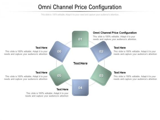 Omni Channel Price Configuration Ppt PowerPoint Presentation Slides Microsoft Cpb Pdf