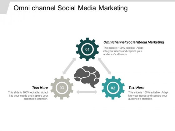 Omni Channel Social Media Marketing Ppt PowerPoint Presentation Professional Outfit Cpb