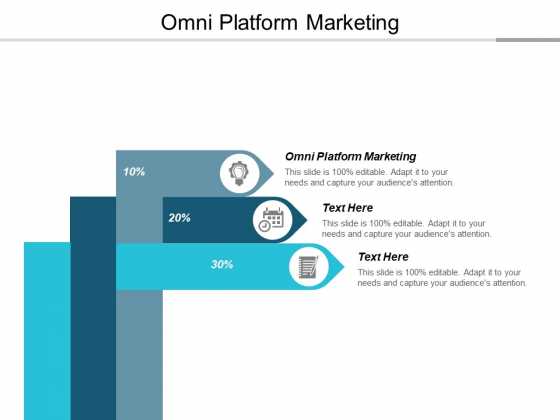 Omni Platform Marketing Ppt Powerpoint Presentation Model Graphics Design Cpb