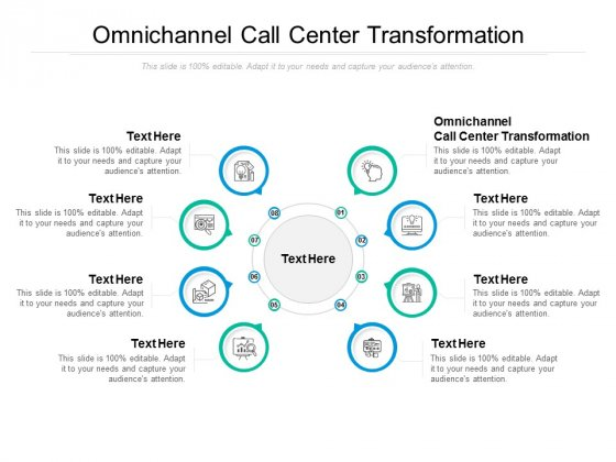 Omnichannel Call Center Transformation Ppt PowerPoint Presentation File Styles Cpb
