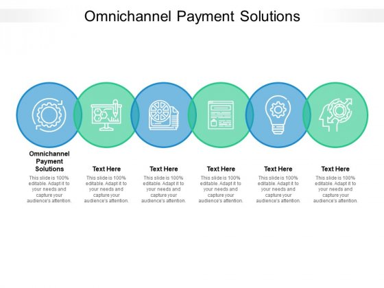 Omnichannel Payment Solutions Ppt PowerPoint Presentation Gallery Deck Cpb Pdf