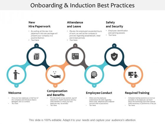 Onboarding And Induction Best Practices Ppt PowerPoint Presentation Model Slide
