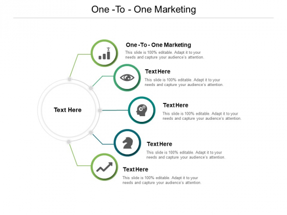 One To One Marketing Ppt PowerPoint Presentation Styles Shapes Cpb