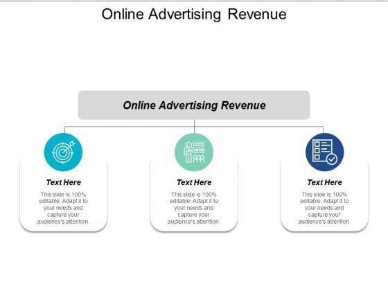 Online Advertising Revenue Ppt PowerPoint Presentation Good Cpb