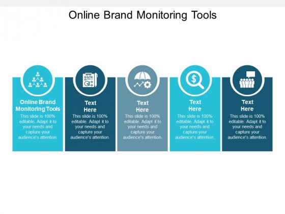 Online Brand Monitoring Tools Ppt PowerPoint Presentation Styles Skills Cpb