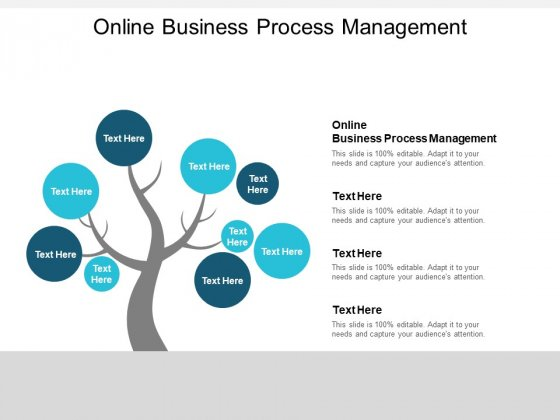 Online Business Process Management Ppt PowerPoint Presentation Portfolio Model Cpb