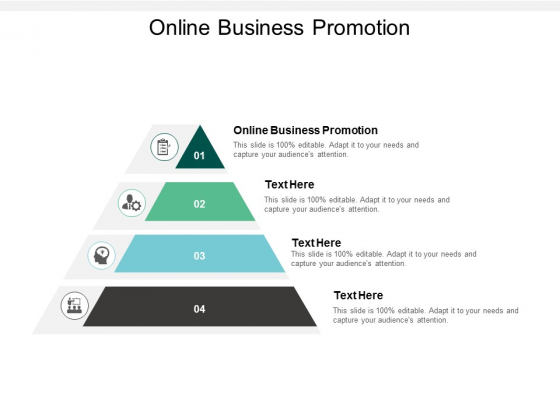Online Business Promotion Ppt PowerPoint Presentation Gallery Objects Cpb
