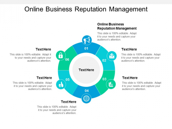 Online Business Reputation Management Ppt PowerPoint Presentation Outline Example Topics Cpb