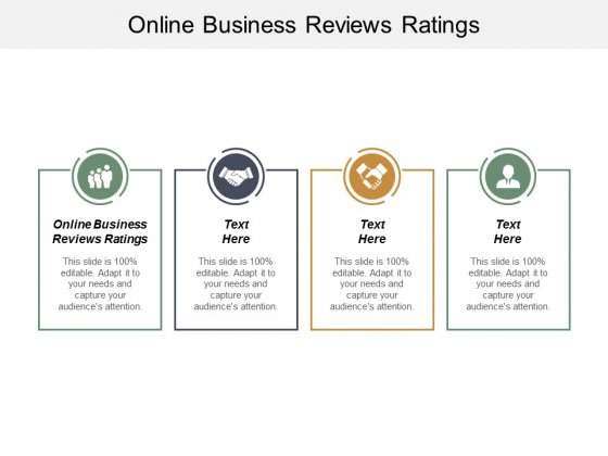 Online Business Reviews Ratings Ppt PowerPoint Presentation Portfolio Graphic Tips Cpb