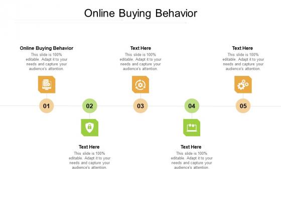 Online Buying Behavior Ppt PowerPoint Presentation Inspiration File Formats Cpb Pdf