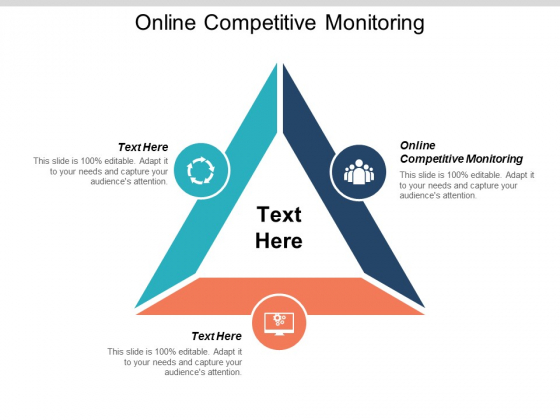 Online Competitive Monitoring Ppt PowerPoint Presentation Pictures Design Inspiration Cpb