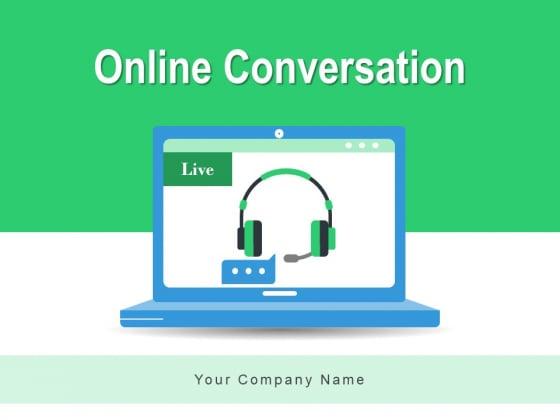 Online Conversation Customer Service Work Instructions Ppt PowerPoint Presentation Complete Deck
