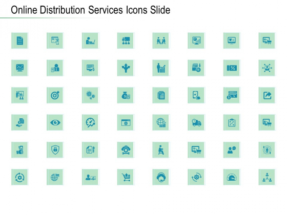 Online_Distribution_Services_Icons_Slide_Ppt_Infographics_Graphics_Template_PDF_Slide_1