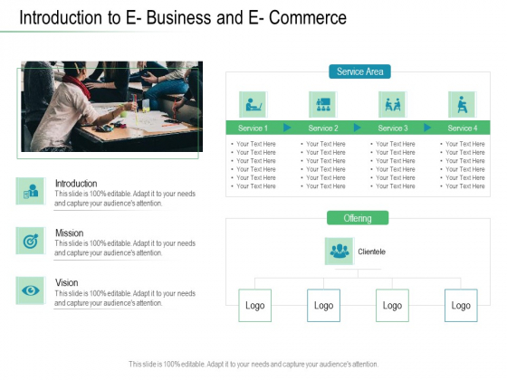 Online Distribution Services Introduction To E Business And E Commerce Ppt Slides Example PDF