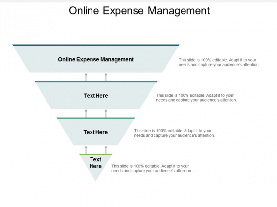 Online Expense Management Ppt PowerPoint Presentation File Graphics Template Cpb