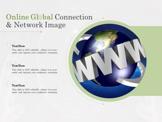 Online Global Connection And Network Image Ppt PowerPoint Presentation Gallery Example