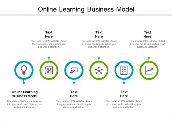 Online Learning Business Model Ppt PowerPoint Presentation Professional Portfolio Cpb Pdf