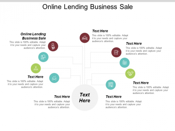 Online Lending Business Sale Ppt PowerPoint Presentation Outline Slideshow Cpb