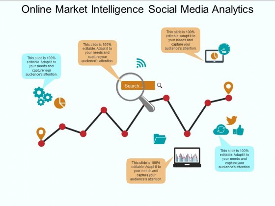 Online Market Intelligence Social Media Analytics Ppt PowerPoint Presentation Infographics Themes