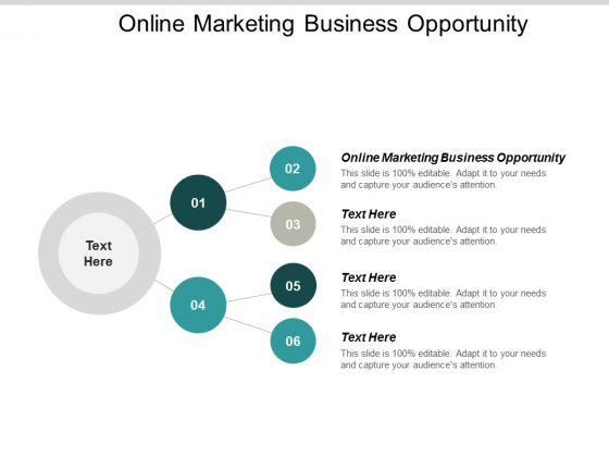 Online Marketing Business Opportunity Ppt PowerPoint Presentation Infographic Template Images Cpb
