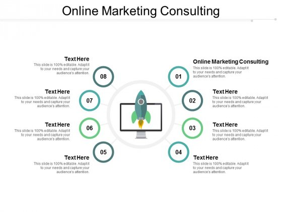 Online Marketing Consulting Ppt PowerPoint Presentation Show Outfit Cpb