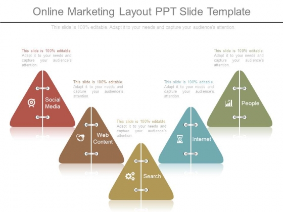 Online Marketing Layout Ppt Slide Template