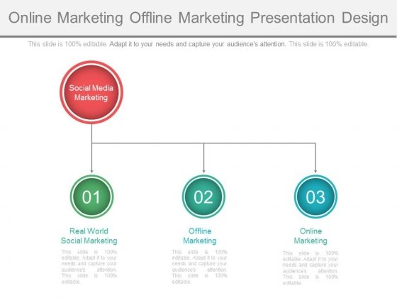 Online Marketing Offline Marketing Presentation Design