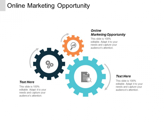 Online Marketing Opportunity Ppt PowerPoint Presentation Professional File Formats Cpb