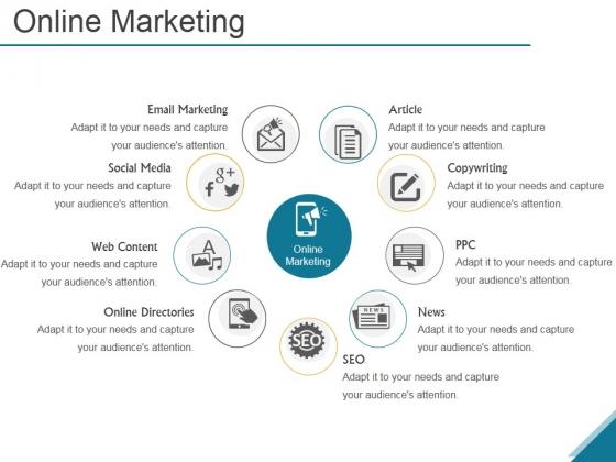 Online Marketing Ppt PowerPoint Presentation Microsoft