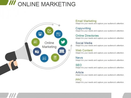 Online Marketing Ppt PowerPoint Presentation Professional Guidelines