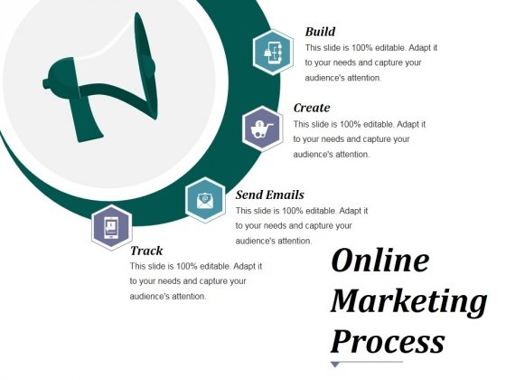 Online Marketing Process Ppt PowerPoint Presentation Icon File Formats