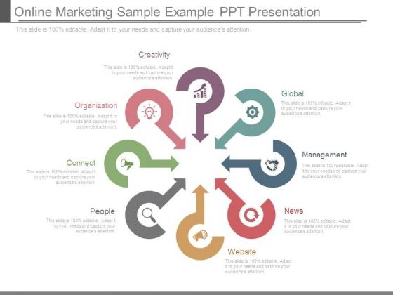 Online Marketing Sample Example Ppt Presentation