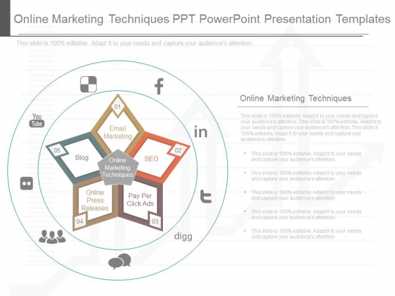 Online Marketing Techniques Ppt Powerpoint Presentation Templates
