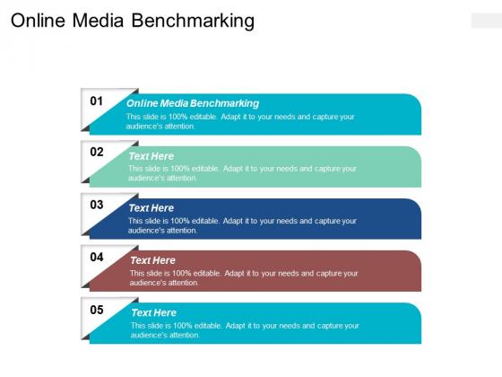 Online Media Benchmarking Ppt PowerPoint Presentation Design Ideas Cpb