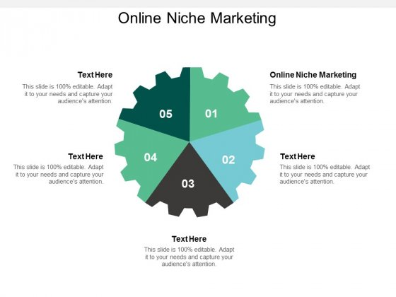 Online Niche Marketing Ppt PowerPoint Presentation Styles Deck Cpb