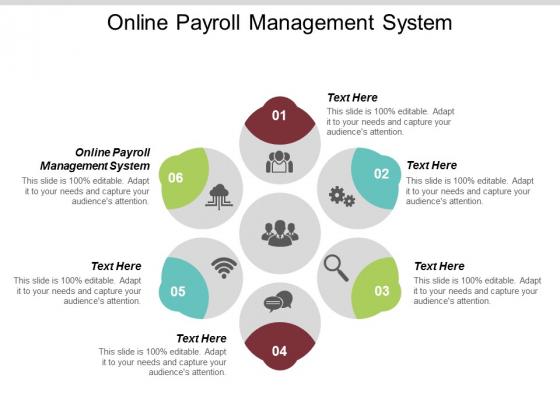 Online Payroll Management System Ppt PowerPoint Presentation Portfolio Cpb