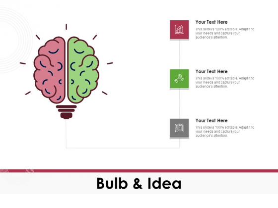 Online Product Planning Bulb And Idea Ppt Ideas Layout Ideas PDF