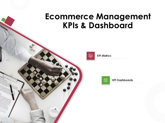 Online Product Planning Ecommerce Management KPIS And Dashboard Ppt Professional Example PDF