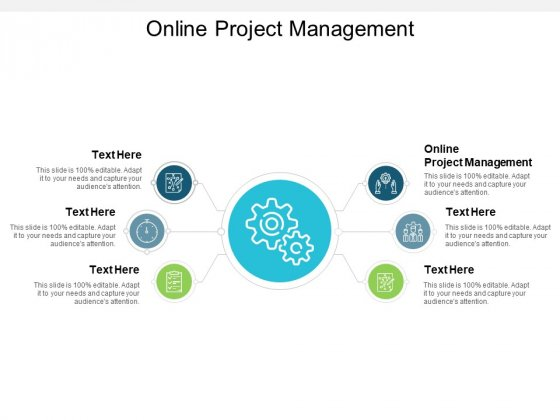 Online Project Management Ppt PowerPoint Presentation Inspiration Pictures Cpb