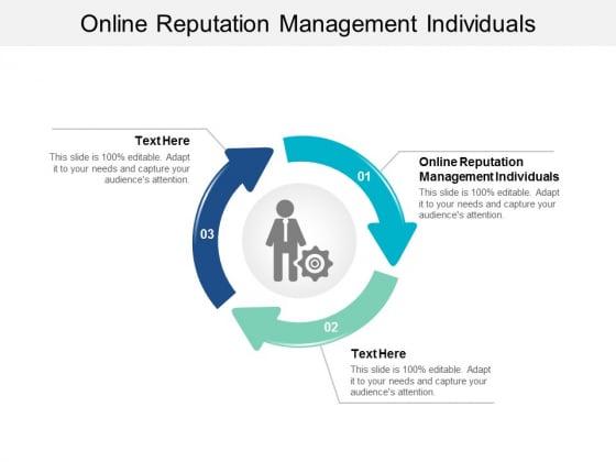 Online Reputation Management Individuals Ppt PowerPoint Presentation Gallery Microsoft Cpb