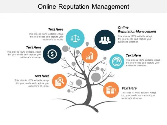 Online Reputation Management Ppt PowerPoint Presentation Ideas Portfolio Cpb