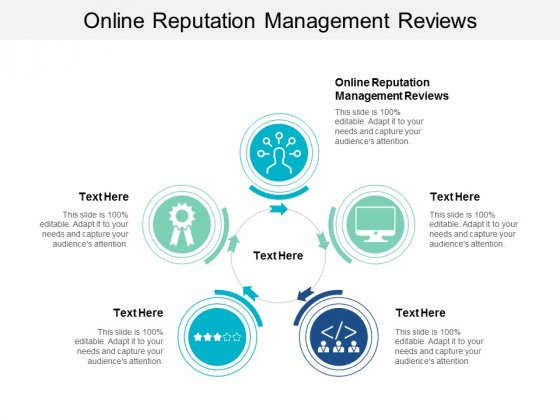 Online Reputation Management Reviews Ppt PowerPoint Presentation Infographics Cpb