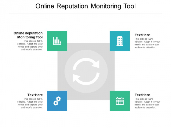 Online Reputation Monitoring Tool Ppt PowerPoint Presentation Portfolio Graphic Images Cpb