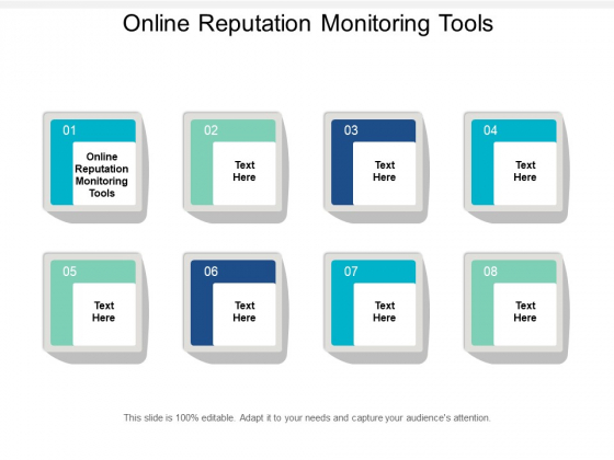 Online Reputation Monitoring Tools Ppt PowerPoint Presentation Slides Background Designs Cpb