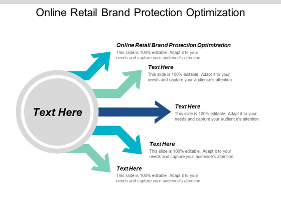 Online Retail Brand Protection Optimization Ppt PowerPoint Presentation Inspiration Maker Cpb