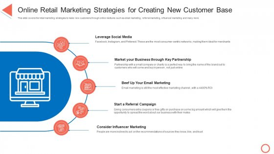Online Retail Marketing Strategies For Creating New Customer Base STP Approaches In Retail Marketing Structure PDF