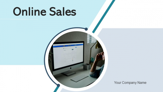 Online Sales Market Collaboration Ppt PowerPoint Presentation Complete Deck With Slides