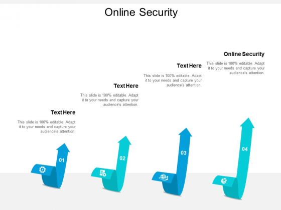 Online Security Ppt PowerPoint Presentation Pictures Layout Ideas Cpb